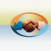 CIC Logo, a business handshake